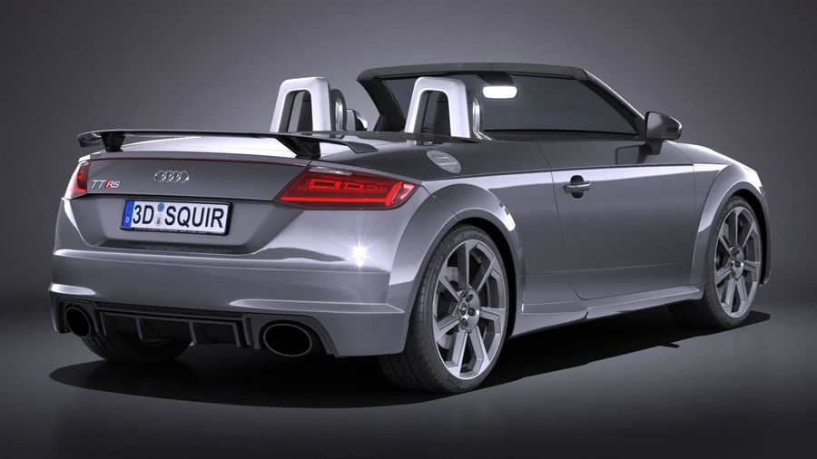 Audi Tt Rs Roadster 2017 3d Model 149 Obj X Lwo Fbx C4d