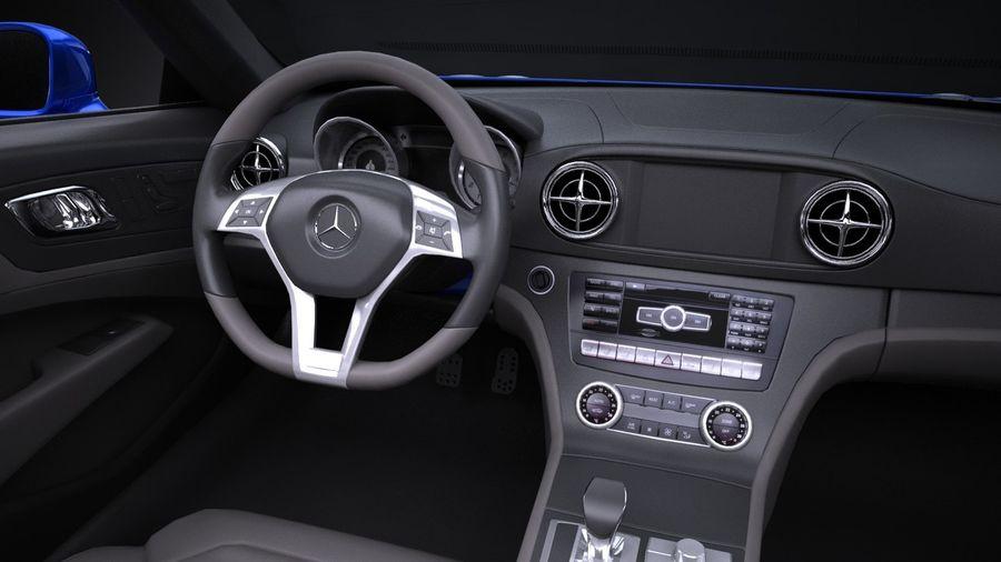 Mercedes-Benz SL 2017 royalty-free 3d model - Preview no. 10