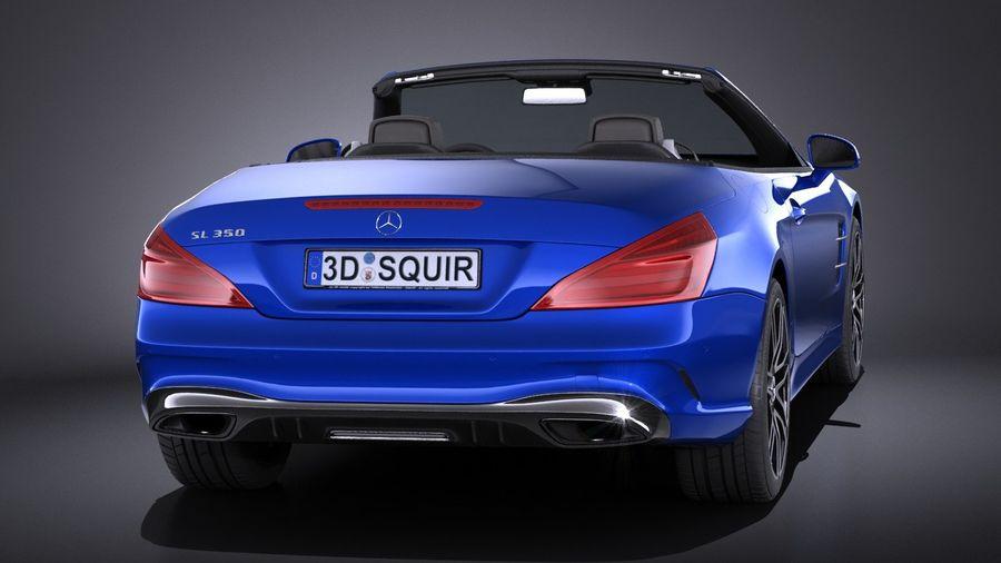 Mercedes-Benz SL 2017 royalty-free 3d model - Preview no. 5