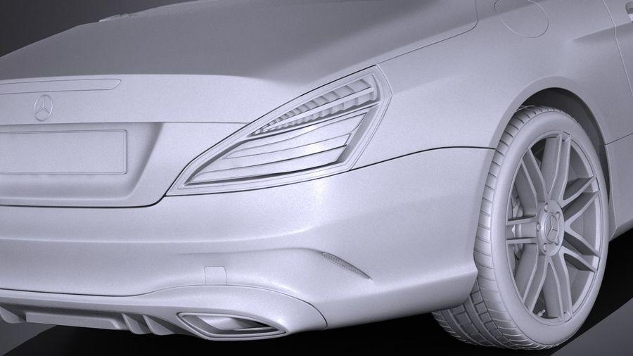 Mercedes-Benz SL 2017 royalty-free 3d model - Preview no. 14