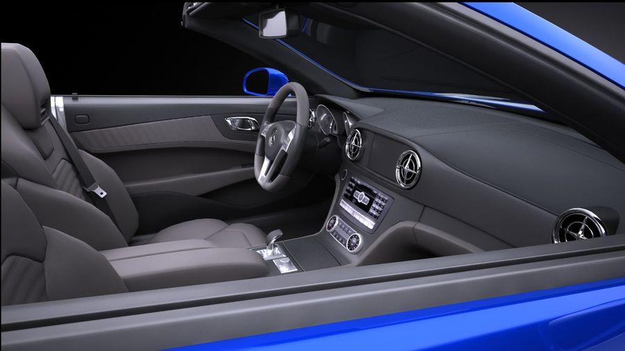 Mercedes-Benz SL 2017 royalty-free 3d model - Preview no. 9