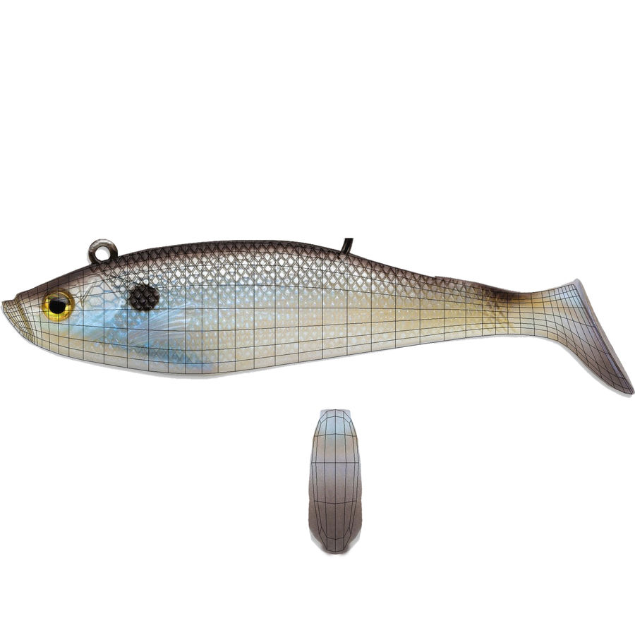 Jelly Shad Lure royalty-free 3d model - Preview no. 9