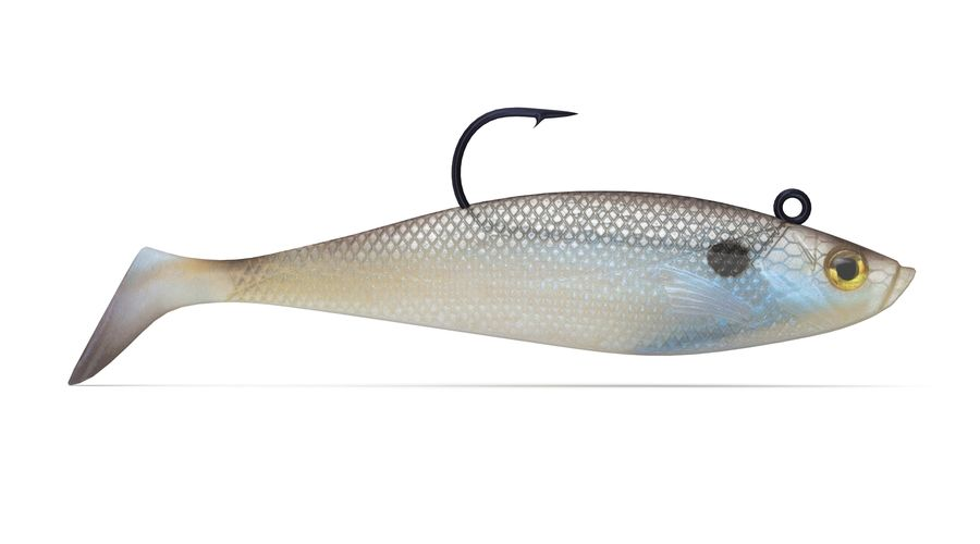 Jelly Shad Lure royalty-free 3d model - Preview no. 1
