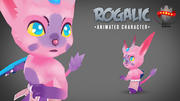 Fantasy Animated Character 2 3d model
