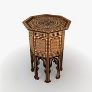 Marockanskt bord 4 3d model