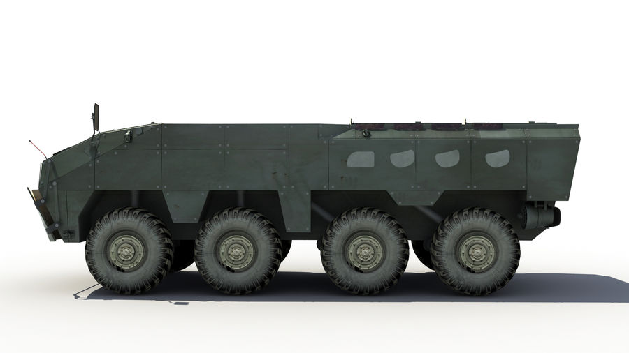 TATA Kestrel APC royalty-free 3d model - Preview no. 5