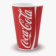 Drink Cup Coca Cola 2 3d model