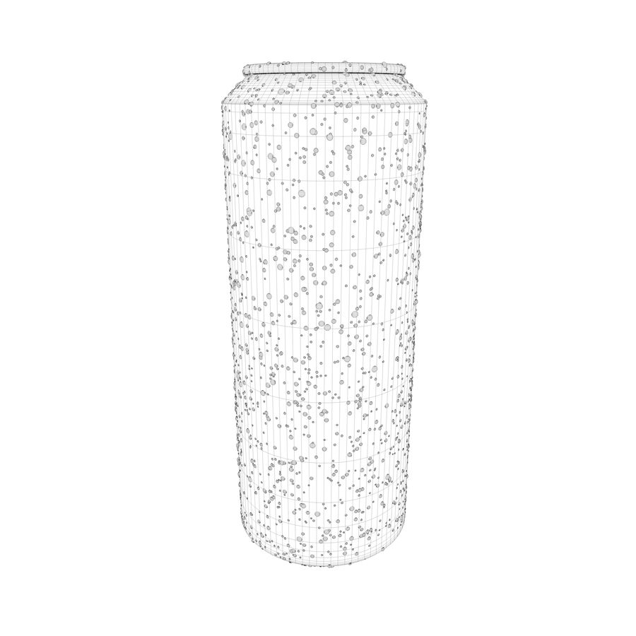 Can With Water Drops 500ml royalty-free 3d model - Preview no. 12