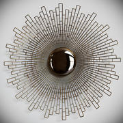 Arteriors wall sculpture 3d model