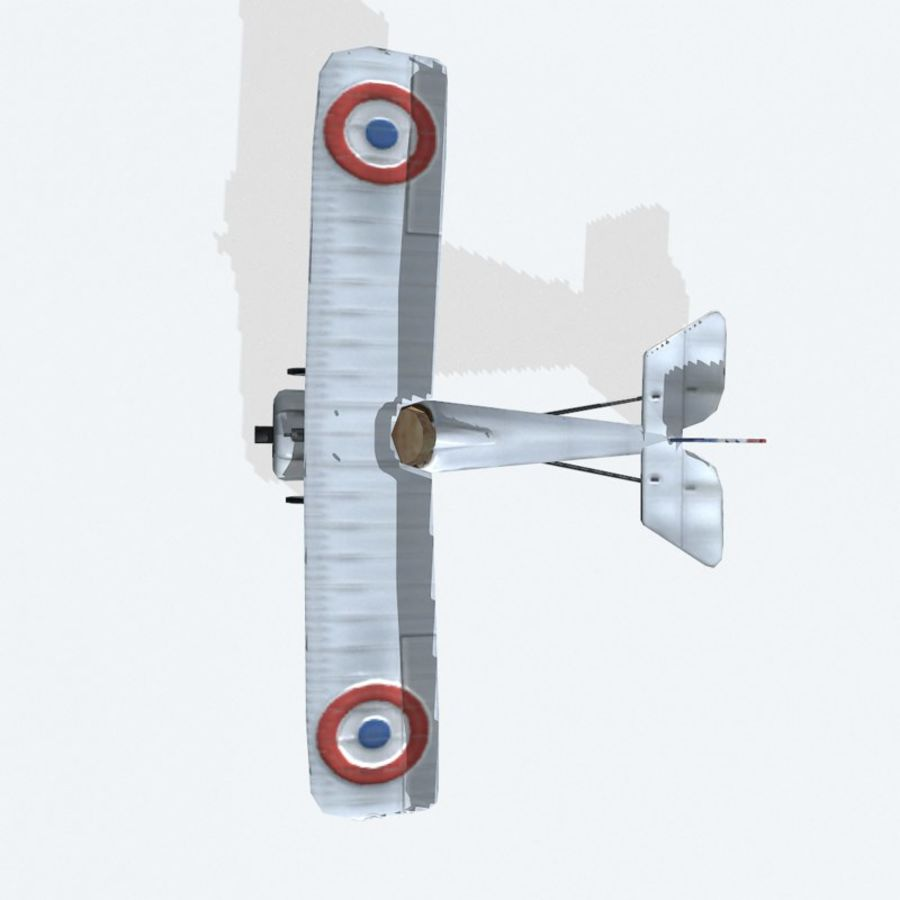 Nieuport 17 royalty-free 3d model - Preview no. 8