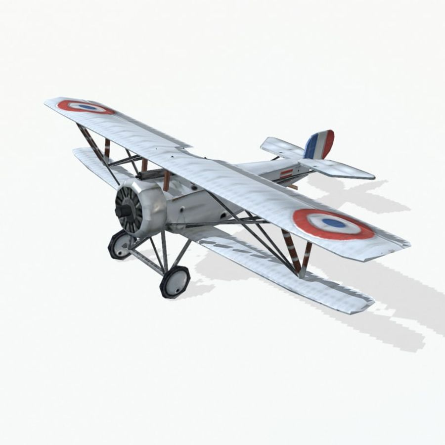 Nieuport 17 royalty-free 3d model - Preview no. 6
