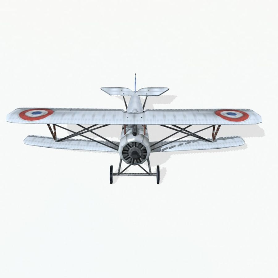 Nieuport 17 royalty-free 3d model - Preview no. 7