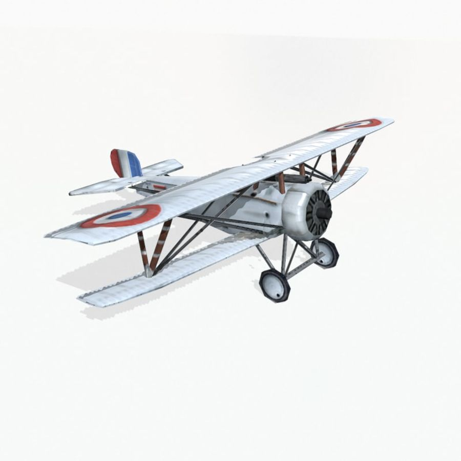 Nieuport 17 royalty-free 3d model - Preview no. 5