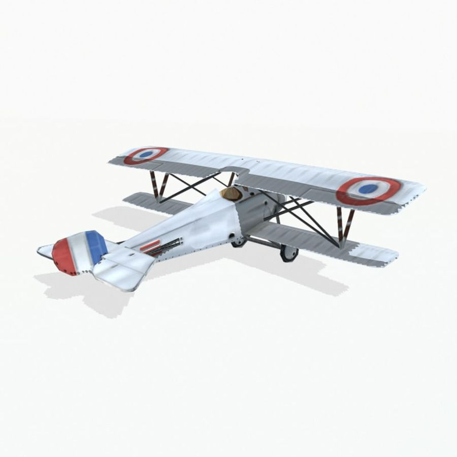 Nieuport 17 royalty-free 3d model - Preview no. 4