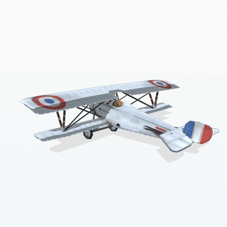Nieuport 17 royalty-free 3d model - Preview no. 3