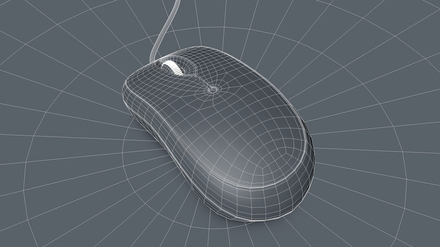 Computer Mouse royalty-free 3d model - Preview no. 11
