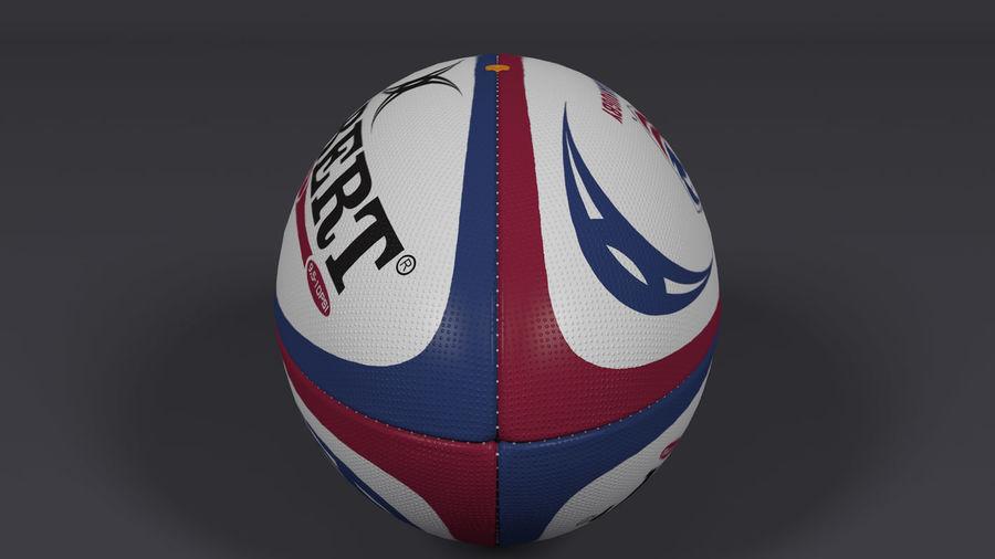ラグビーボール royalty-free 3d model - Preview no. 3