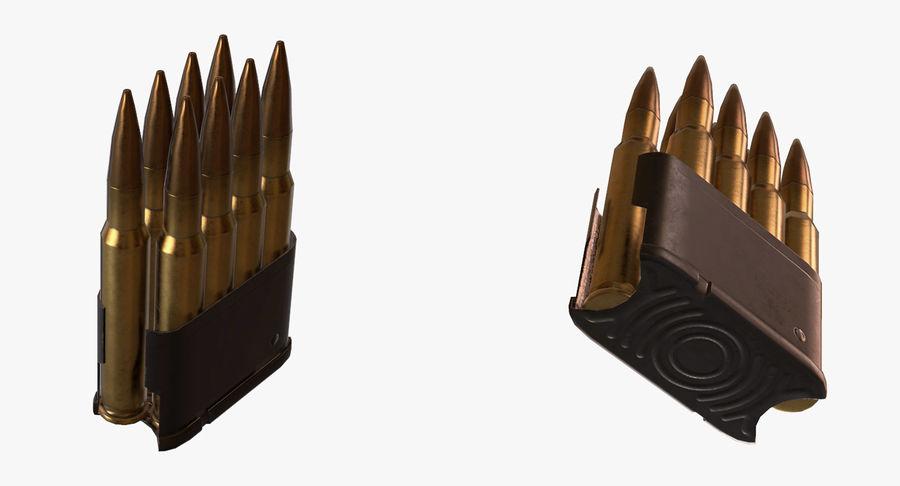 M1 Garand Low Poly royalty-free 3d model - Preview no. 19
