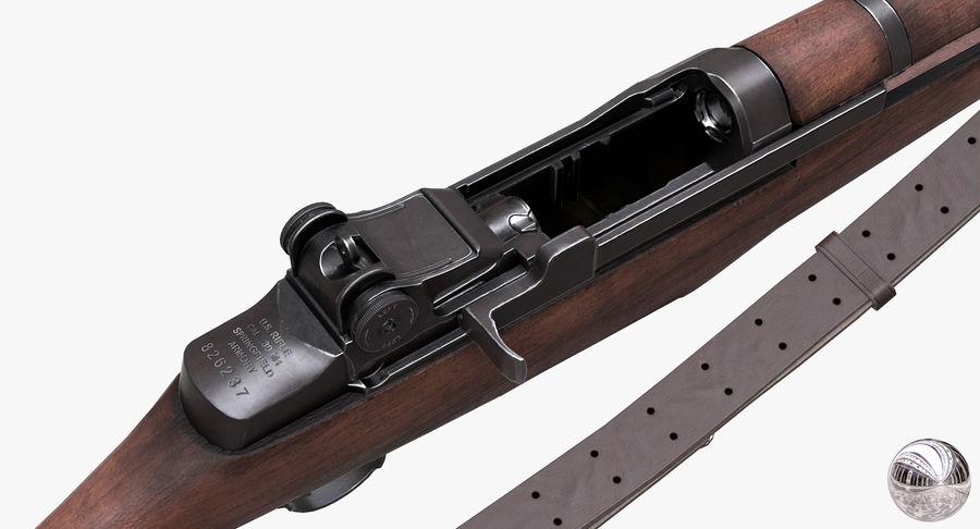 M1 Garand Low Poly royalty-free 3d model - Preview no. 12