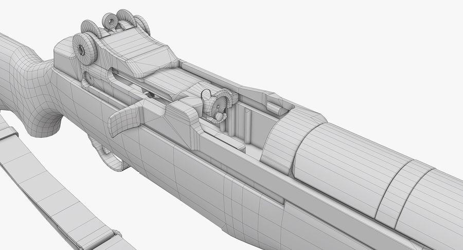 M1 Garand Low Poly royalty-free 3d model - Preview no. 30