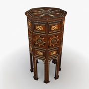 Moroccan Table 5 3d model