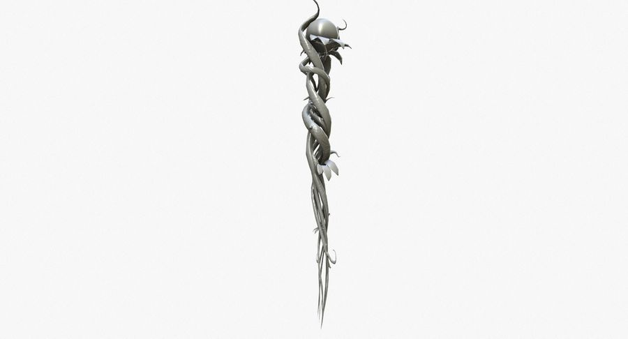 Fantasy Weapon - Staff royalty-free 3d model - Preview no. 5