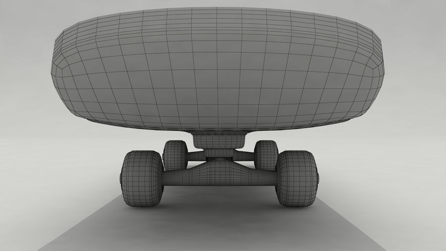 Skateboard royalty-free 3d model - Preview no. 8