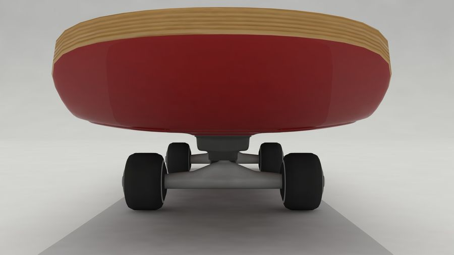 Skateboard royalty-free 3d model - Preview no. 3