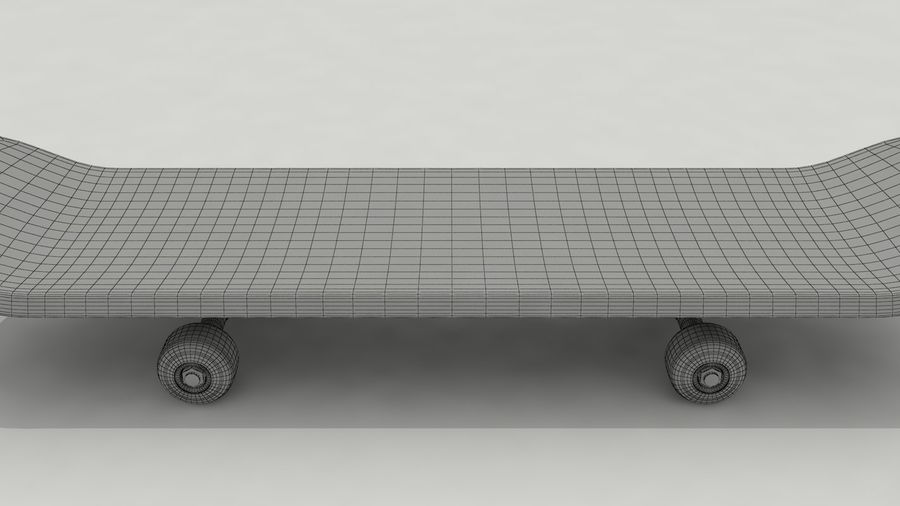 Skateboard royalty-free 3d model - Preview no. 10