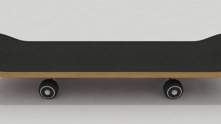 Skateboard royalty-free 3d model - Preview no. 5