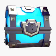 Super Magical Chest 3d model