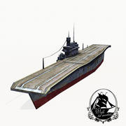 USS Yorktown 3d model