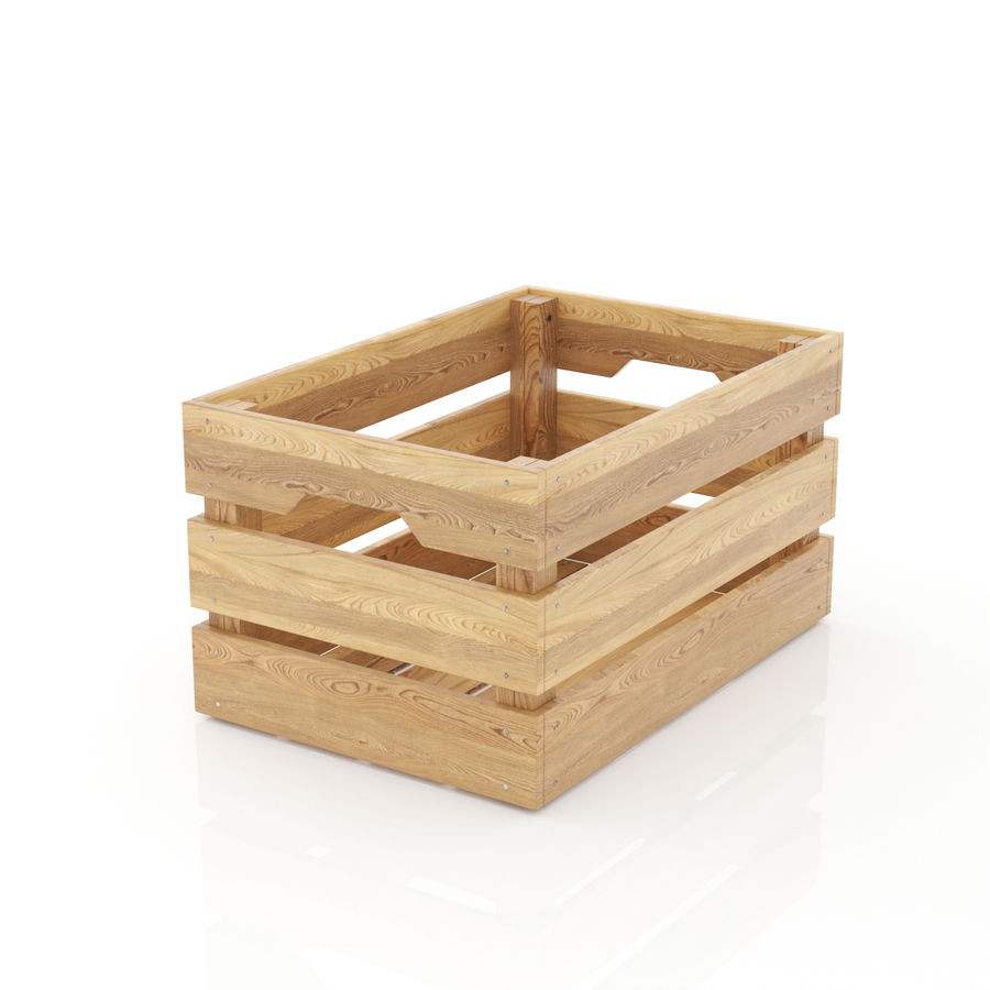 Ikea Knagglig Kasten Wooden Box 3d Model 8 Unknown