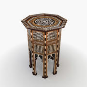 Moroccan Table 3 3d model