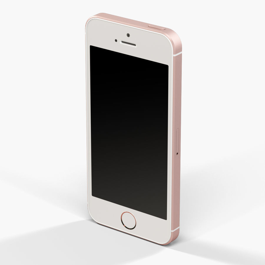 Apple iPhone SE royalty-free 3d model - Preview no. 15