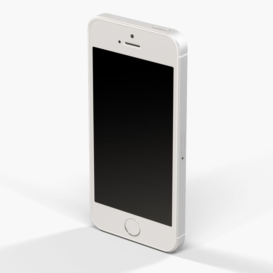 Apple iPhone SE royalty-free 3d model - Preview no. 12