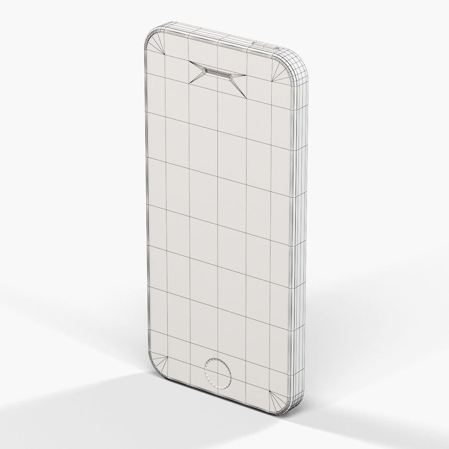 Apple iPhone SE royalty-free 3d model - Preview no. 19