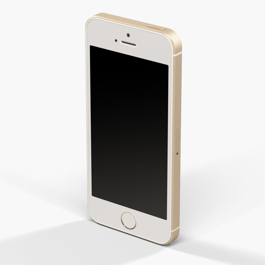 Apple iPhone SE royalty-free 3d model - Preview no. 9