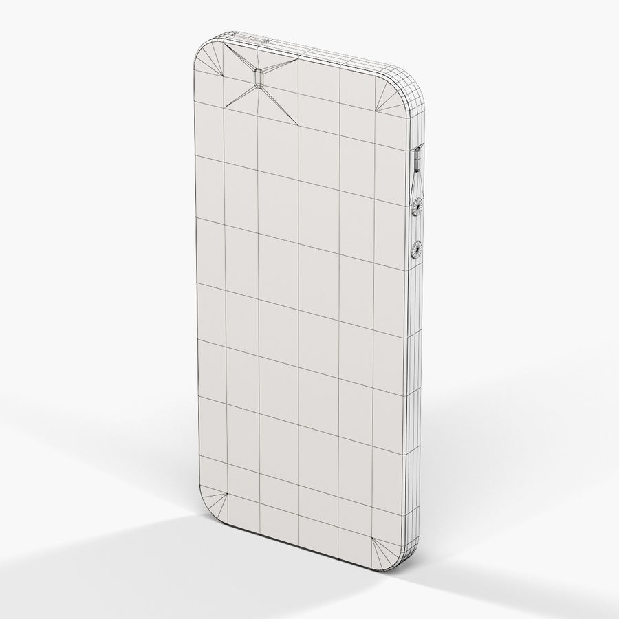 Apple iPhone SE royalty-free 3d model - Preview no. 20