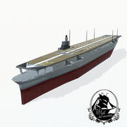 Shokaku carrier 3d model