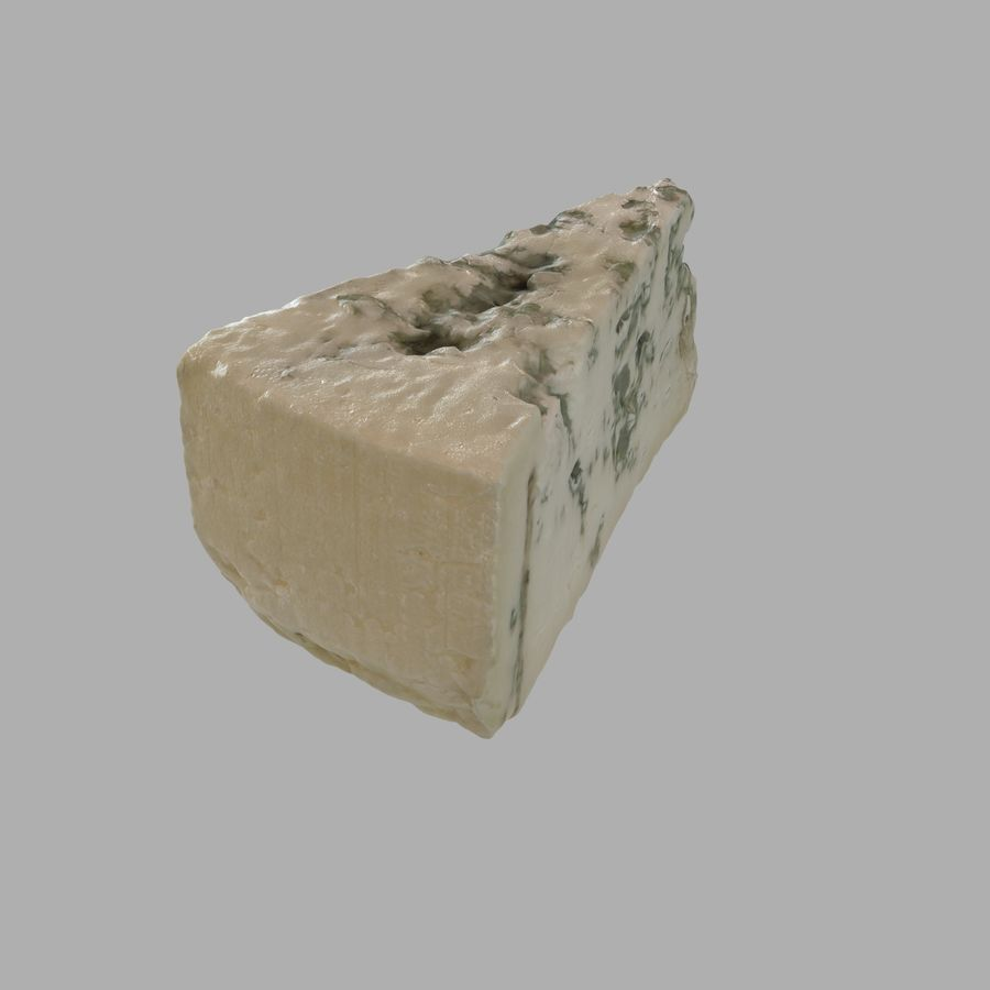 Niva cheese royalty-free 3d model - Preview no. 3