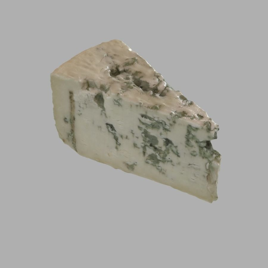 Niva cheese royalty-free 3d model - Preview no. 4