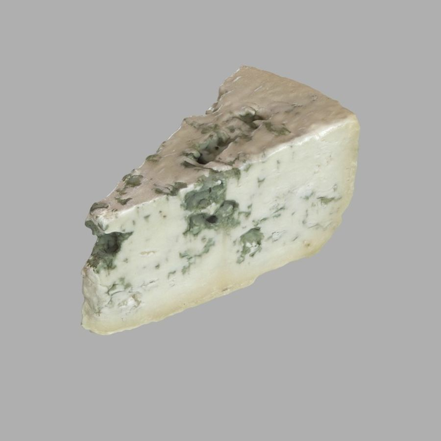 Niva cheese royalty-free 3d model - Preview no. 1