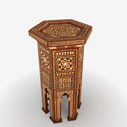 Moroccan Table 7 3d model