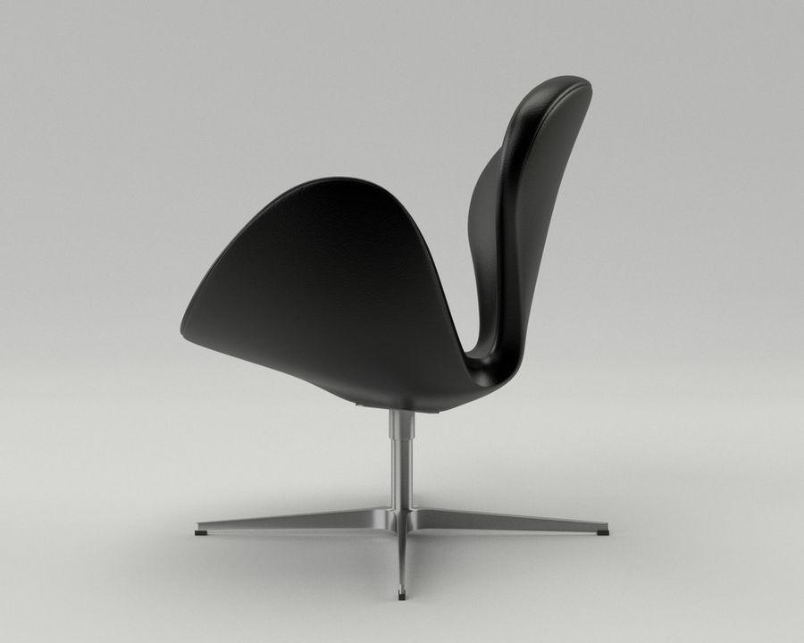 Fritz Hansen Swan Chair 3d Model 8 Obj Oth Fbx 3ds Blend