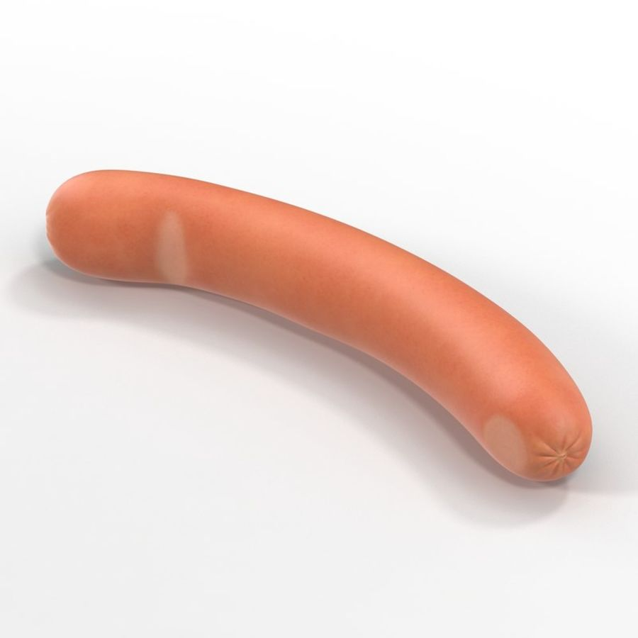 Sausage royalty-free 3d model - Preview no. 2