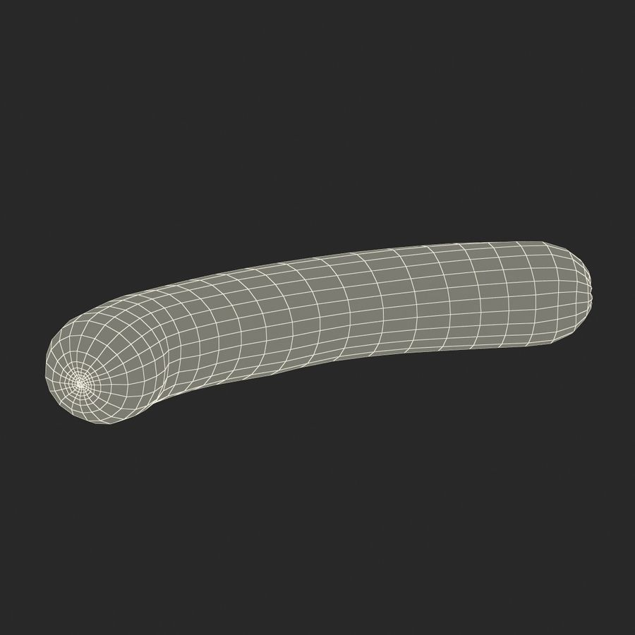 Sausage royalty-free 3d model - Preview no. 17
