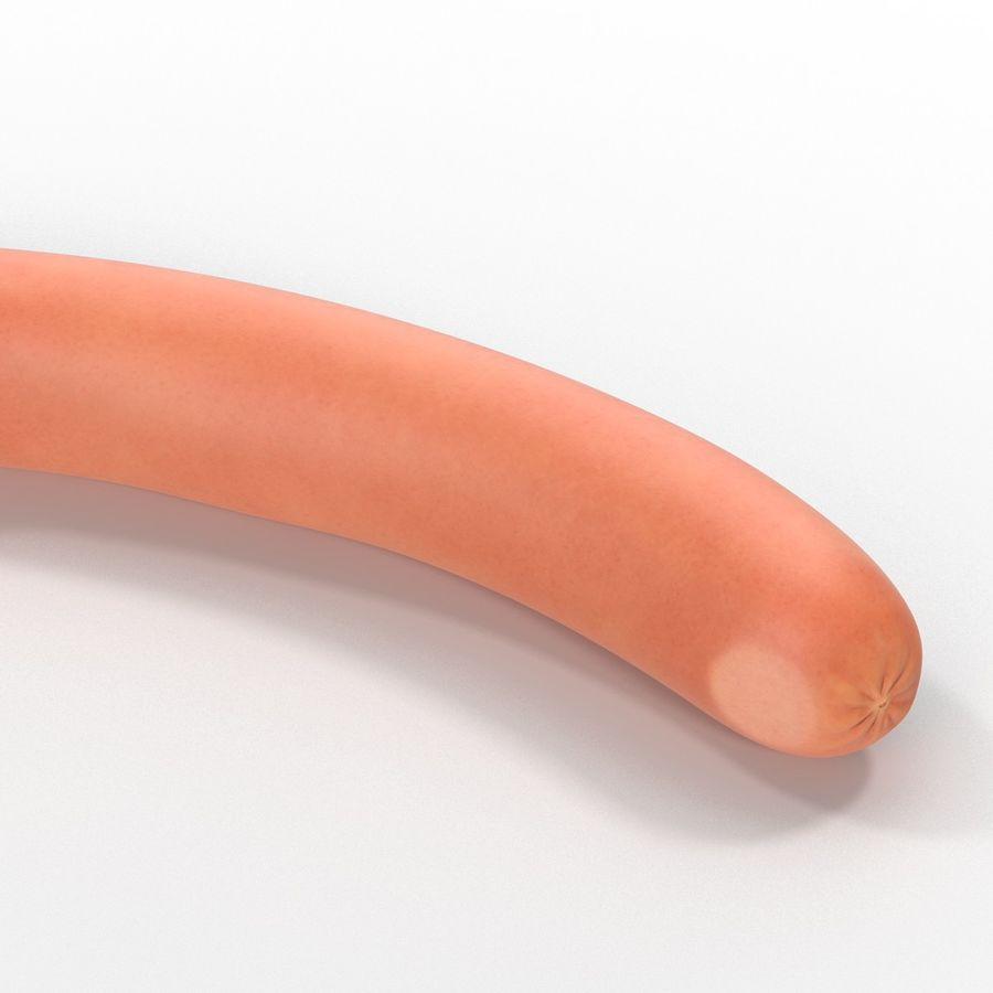 Sausage royalty-free 3d model - Preview no. 6