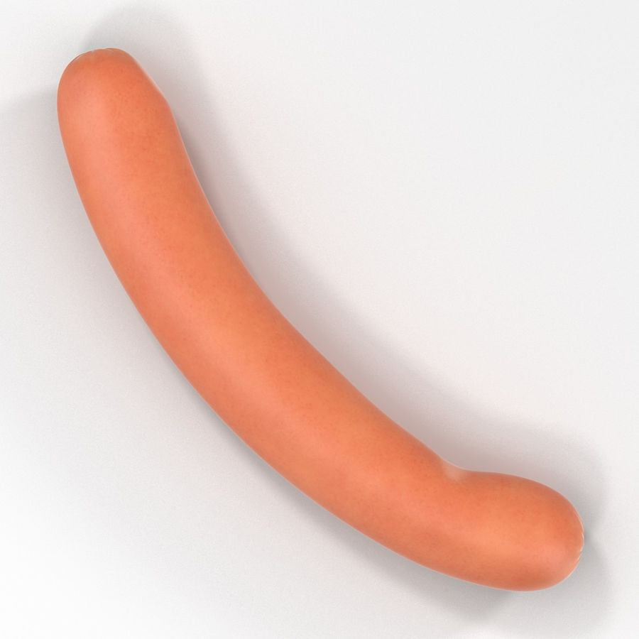 Sausage royalty-free 3d model - Preview no. 3
