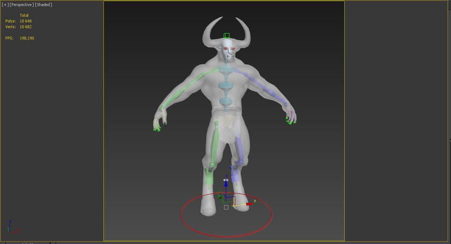 미노타 우르 장비 royalty-free 3d model - Preview no. 12